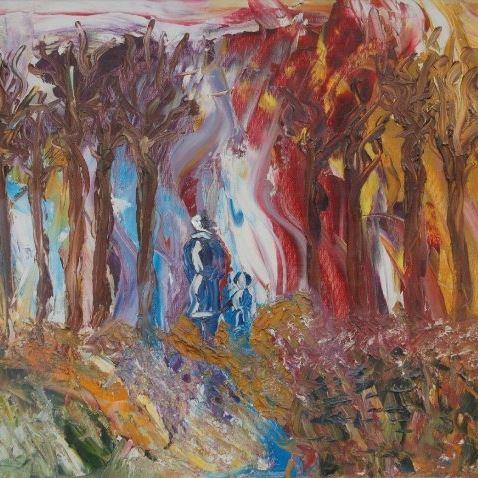 Autumn Glory oil painting